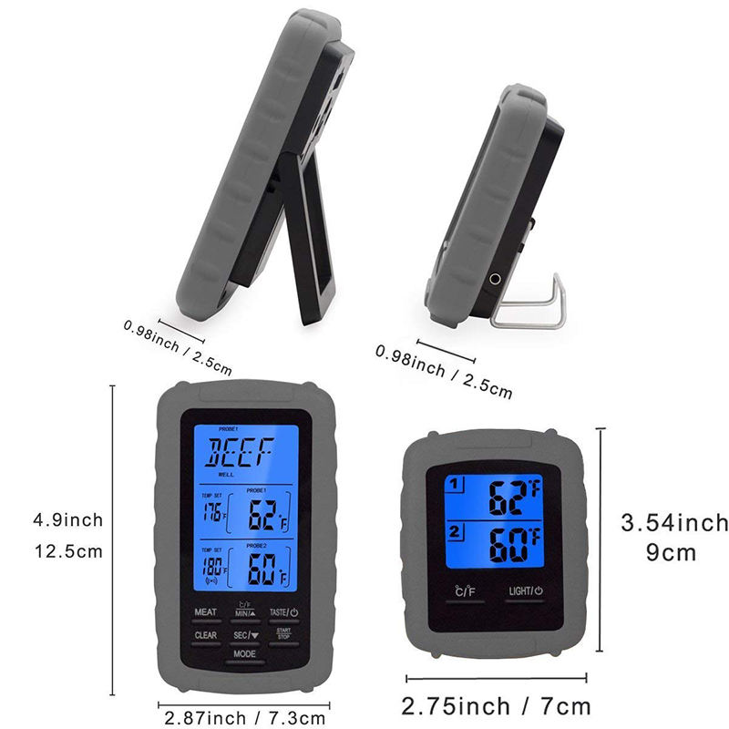 Wireless Barbecue Remote Electric BBQ Meat Thermometer