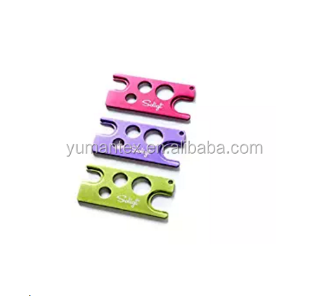 Colorful steel essential oil opener roll on bottle opener Easily Remove Roller caps opener tools
