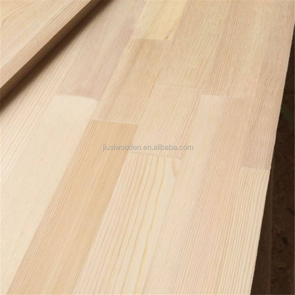 AA Grade Pine Finger Joint Laminated Board/wooden Panel /lumber From China JiuSi factory