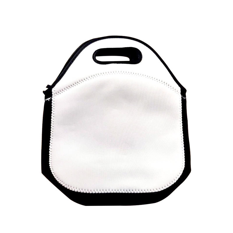 For sublimation big size insulated lunch tote bag neoprene