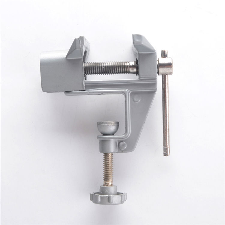 Alloy Mini Table Bench Vise Swivel Lock Clamp Craft Hobby Jewelers Craft Repair Tool