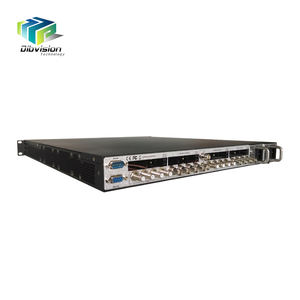 DVB-S2/ASI/ip descramble to Clear ip asi Converter via CI slot Biss key for digital catv headend system