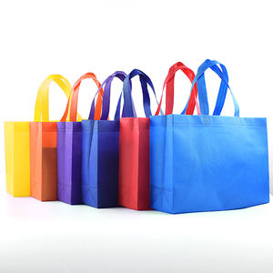 Cheap promotion nonwoven grocery shopping tote bag