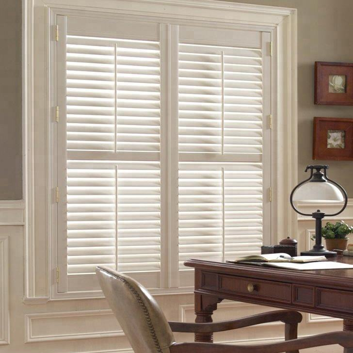 Factory custom wooden plantation window shutters direct from China