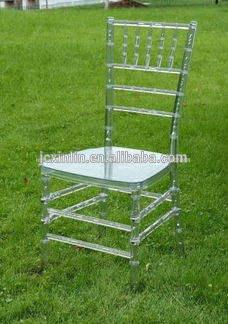 romântico crystal resina <span class=keywords><strong>chiavari</strong></span> cadeiras para o casamento