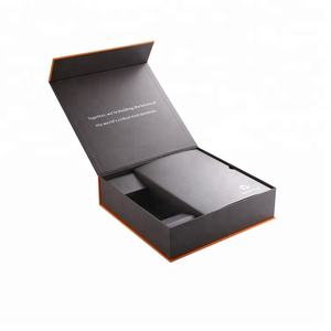 China manufacturer high end custom magnetic box gift cardboard