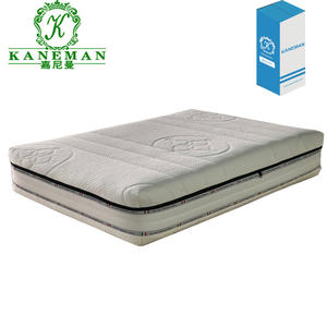 Europe High Density Busa Kasur Perusahaan Rollable Kasur Memory Foam