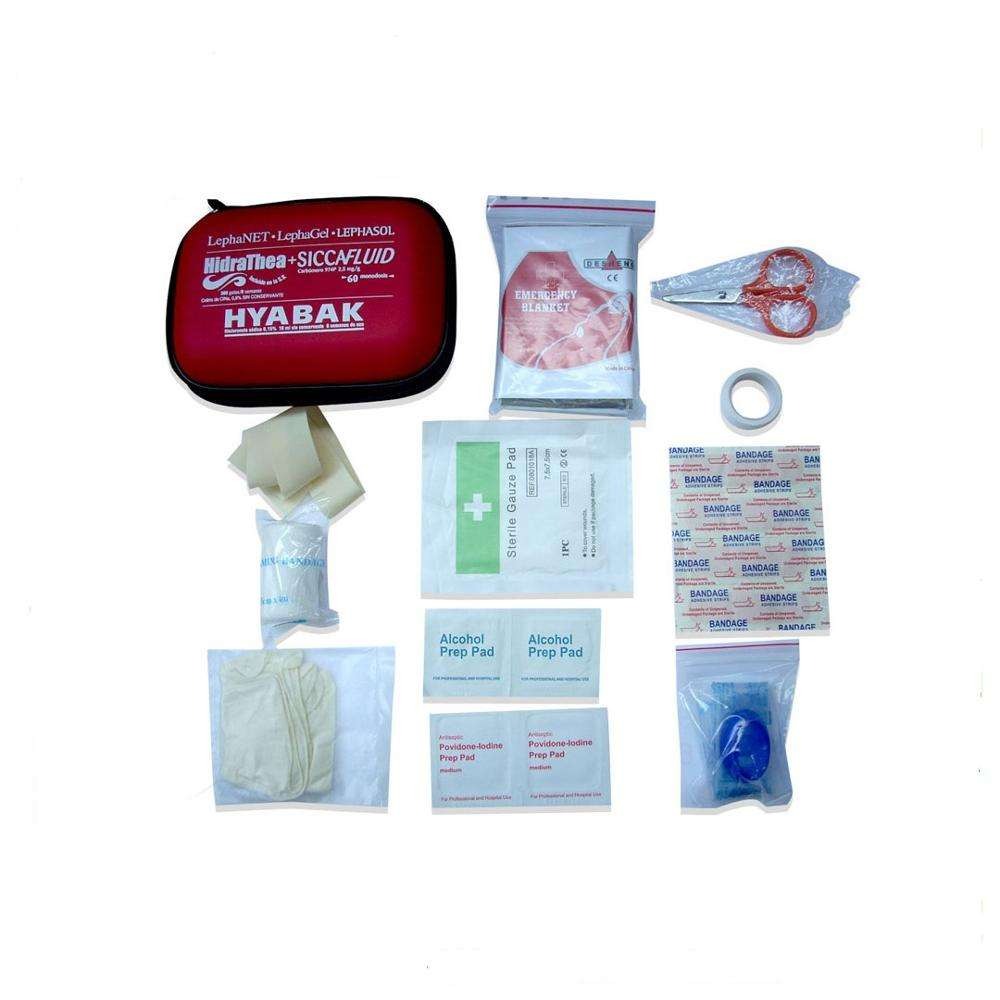 72 hour 10 in 1 pack oem outdoor military emergency first aid survival kit