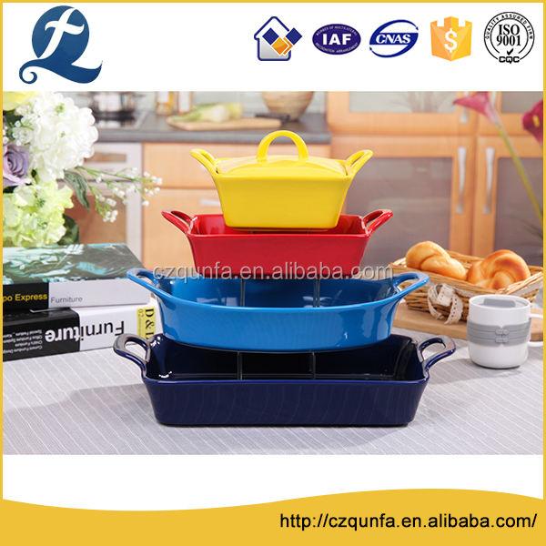 Многофункциональный для хранения продуктов керамики кухонную посуду для выпечки
