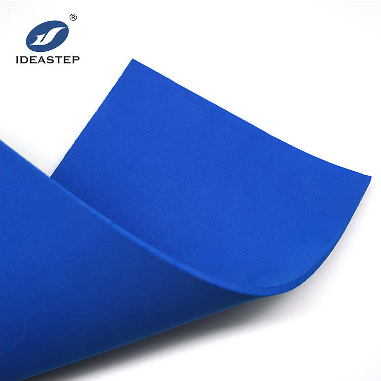 IDEASTEP High quality cycling eva and rubber foam sheet prosthetics and orthotics materials insole covering material eva produce
