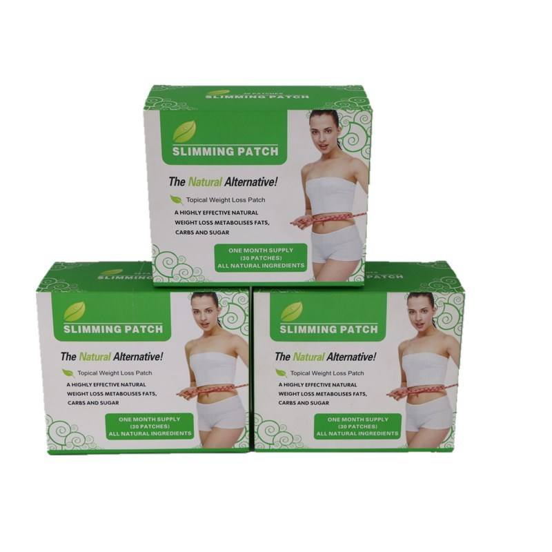 300 Pieces=10 boxes Effective Slimming Patches Weight Loss Magnet Slimming Patch