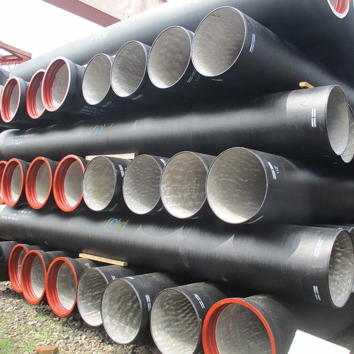 ISO2531, EN545 , EN598 Bitumen Coated Ductile Cast Iron Pipes Manufacturer