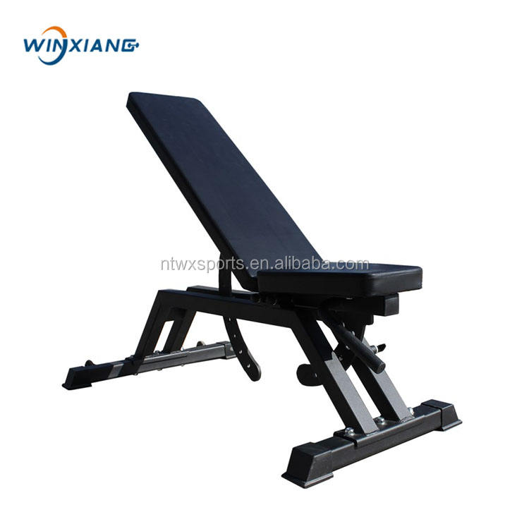 Fitness Equipment Good Guality Adjustable Weight Flat Bench