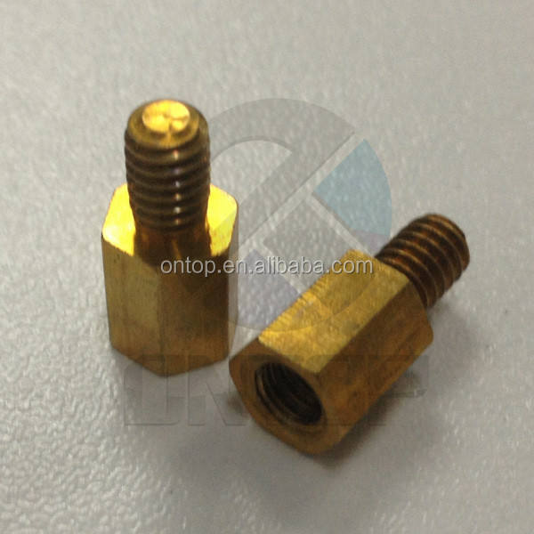 custom made brass turning lathe cnc machining items