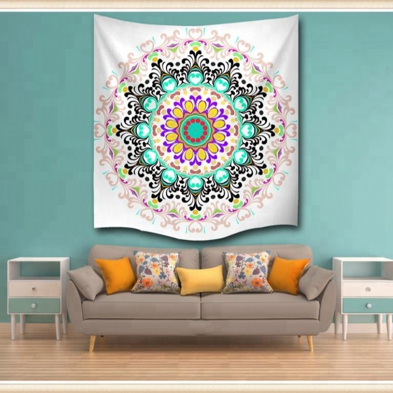 Modern designs digital/flat printing indian wall hanging