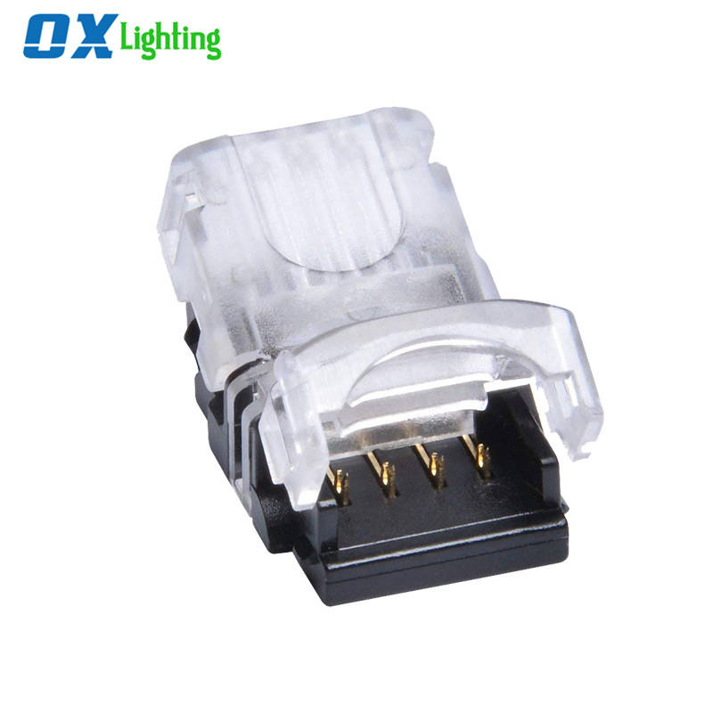 Led Strip Quick Connector 2 Pin Led Wire Connectors For Waterproof LED Strip