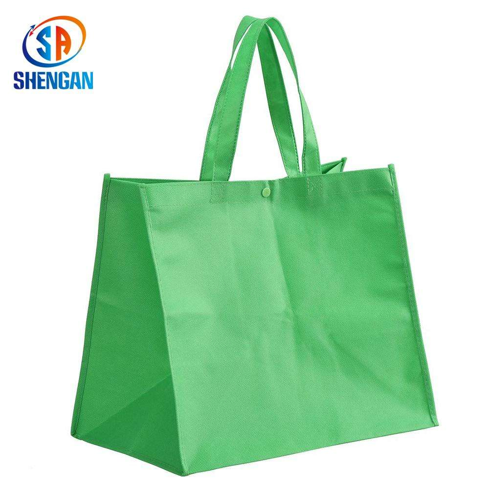 2018 News Premium Supplier PP non-woven shopping promotion bag stylish customer brand hot sell