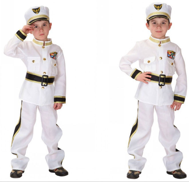 kids boys handsome navy costumes cosplay costumes for boys halloween cosplay costumes for children