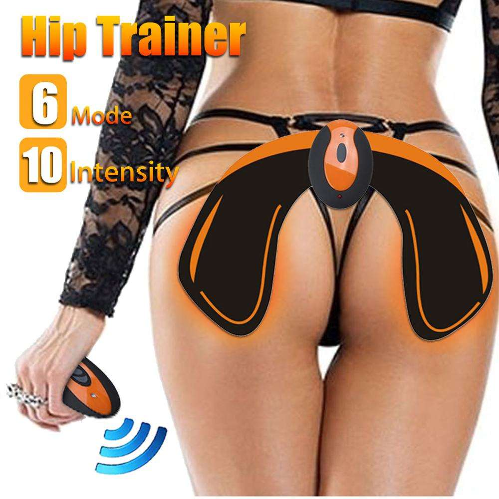 hot sell wearable EMS hips trainer slimming massager buttock massage butt trainer electric muscle stimulator wireless abs shaper