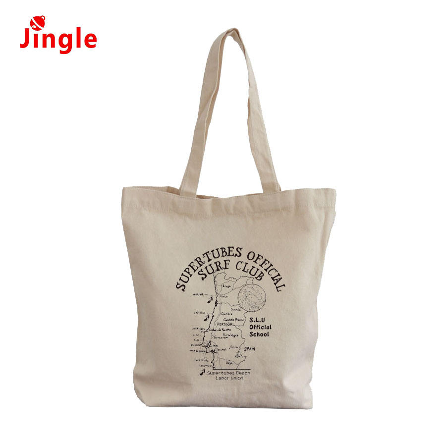 New Colorful pattern Heat Transfer Printing Promotional Shopping Canvas Bag