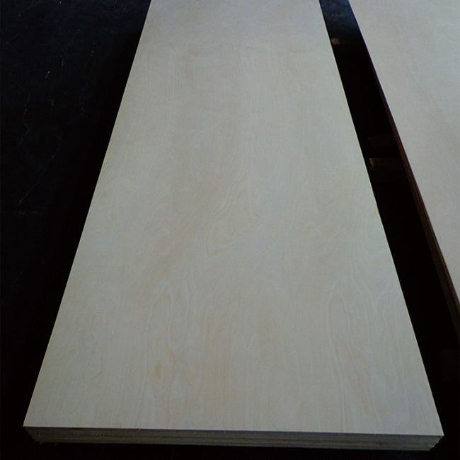Wholesale 16mm laminated maple white birch plywood sheet for furniture