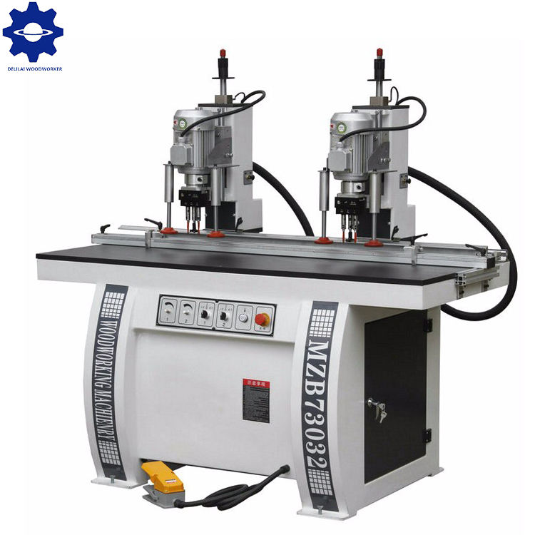 Double Head Vertical Hinge Boring Machine for furniture drilling holes