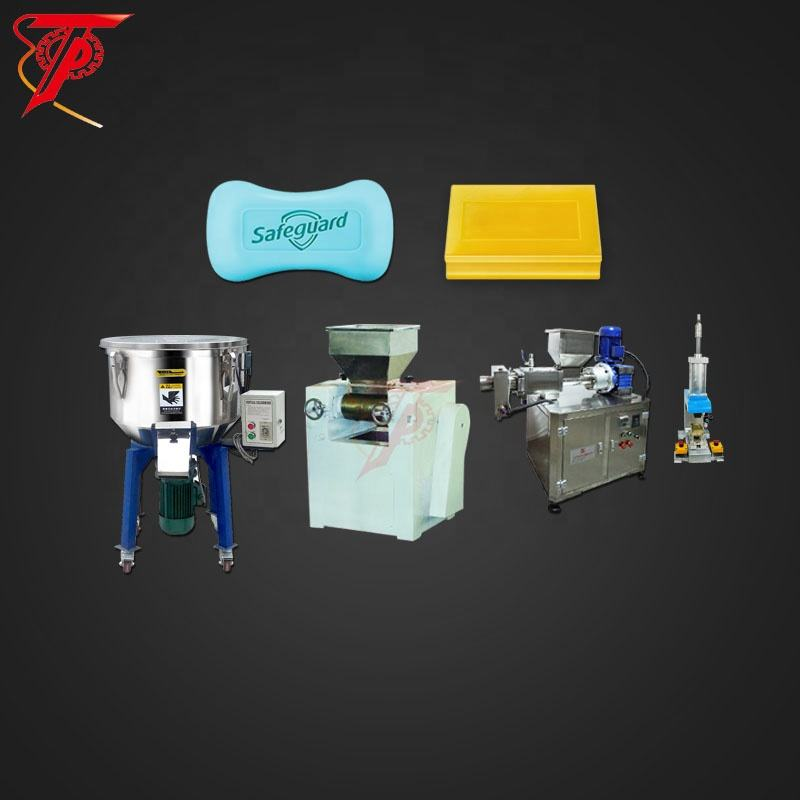 small scale Toilet soap making plodder machine