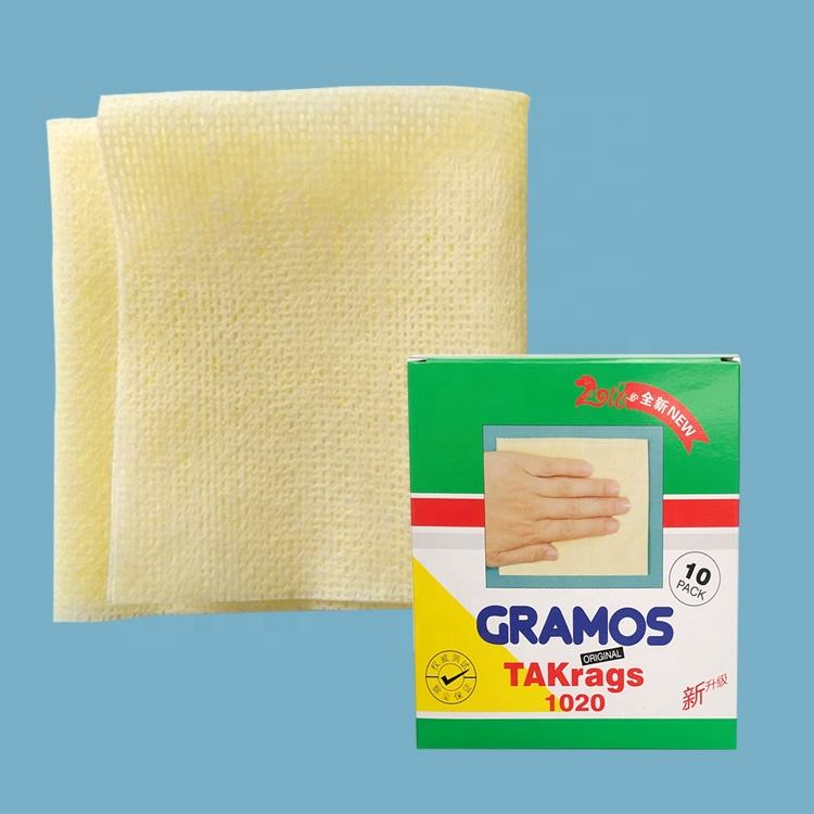 High Quality car wipes cleaning Sticky Tack Cloth for Refinishing Paint