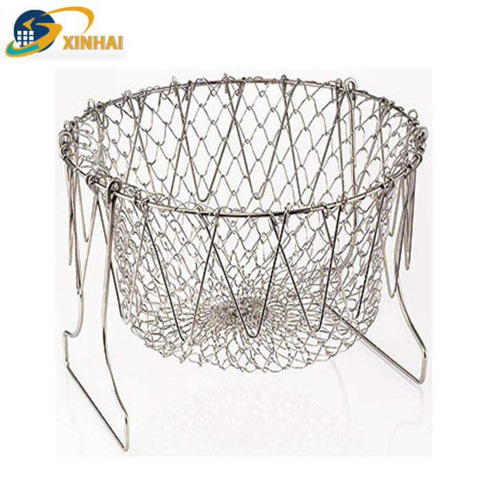 Chef basket wire mesh for sale