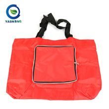 New brand cheap logo tote non-woven women shopping bag foldable