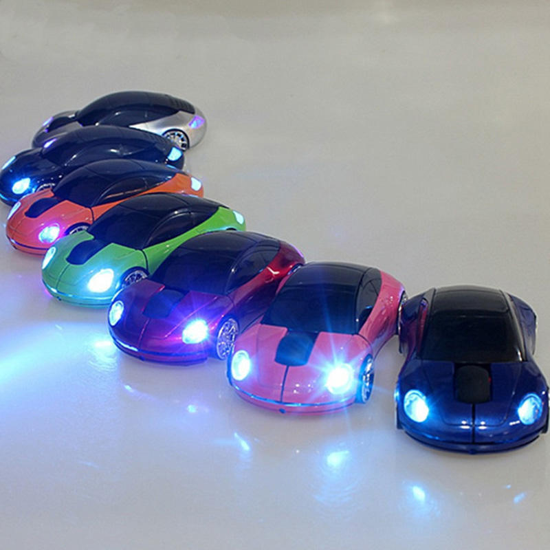 Colorful mouse wireless per auto forma mouse ottico con filo