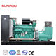 china yuchai big power 500kw magnetic motor diesel generator for sale