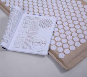2019 New Items flower of life Spikes Acupressure Mat and Pillow Set