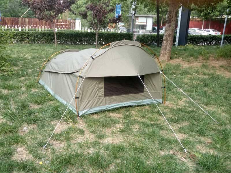 2016 OEM 호주 스타일의 캠핑 돔 약탈/장식이 캠핑 텐트 최고의 품질