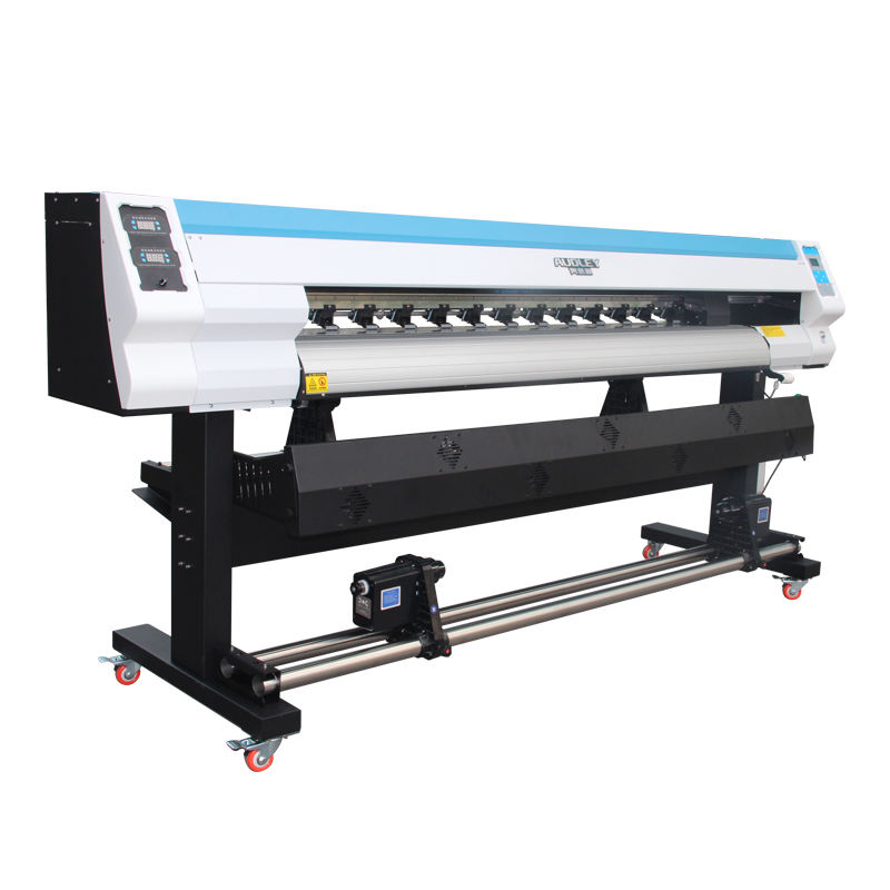 Audley S2000 small inkjet cheap double dx6 head xp600 take up system vinyl flex eco solvent printer price with CE