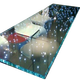 LED laminated glass for table,partition,stair,curtain wall,floor tempered laminated glass table with LED lights