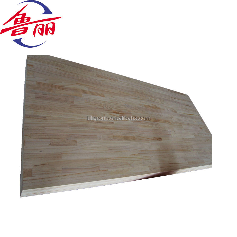 okoume finger joint board solid panel for furniture