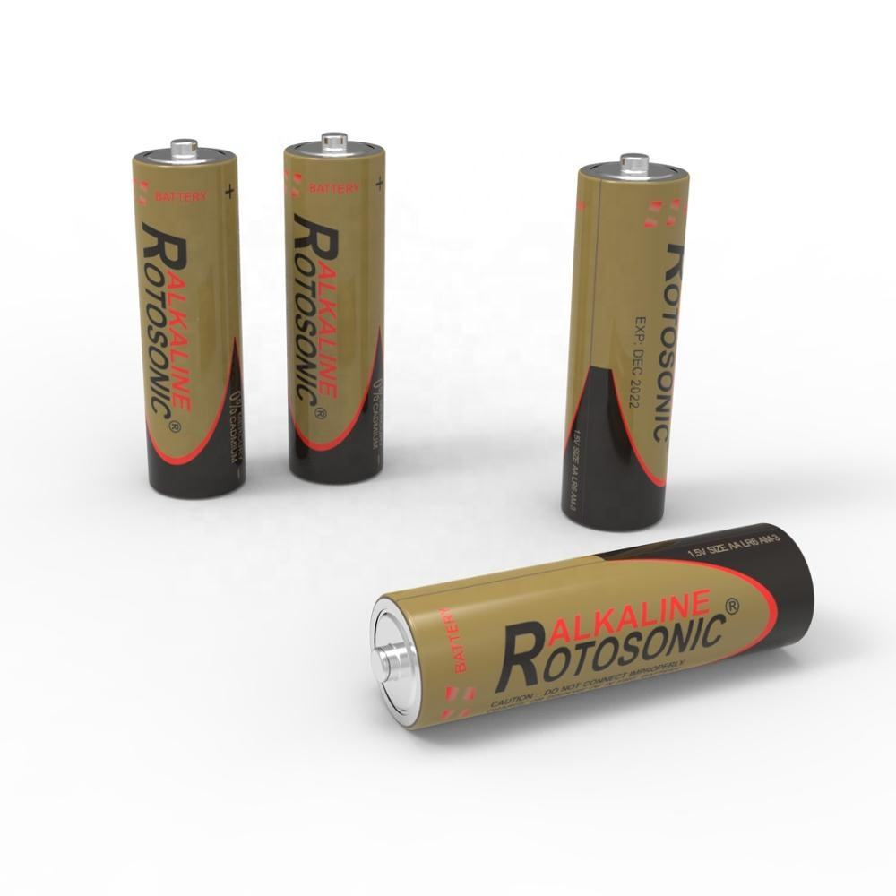 Alkaline battery lr6 1.5v aa for toys remote control