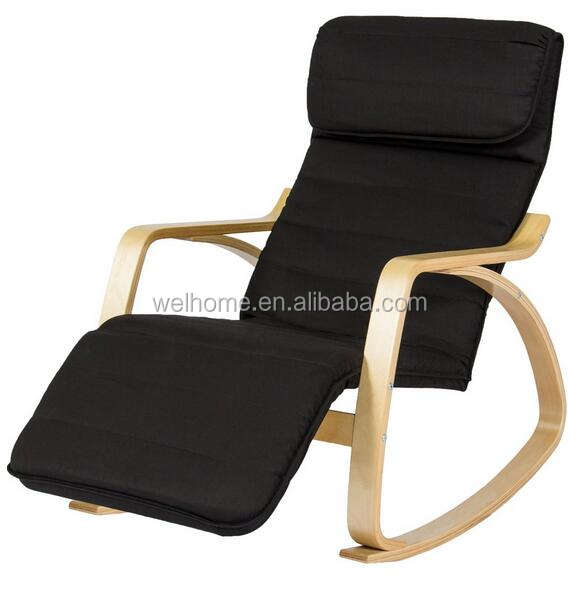 rocking chair, bentwood recliner chair, livingroom relax chair
