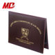 Folder Holder Folder Certificate Folder Smooth Leatherette Diploma Certificate Cover Velvet Certificate Folder Holder