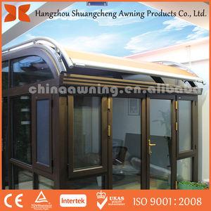 Motor eléctrico de techo solar refugio techo retráctil parasol auto sombra de efecto invernadero