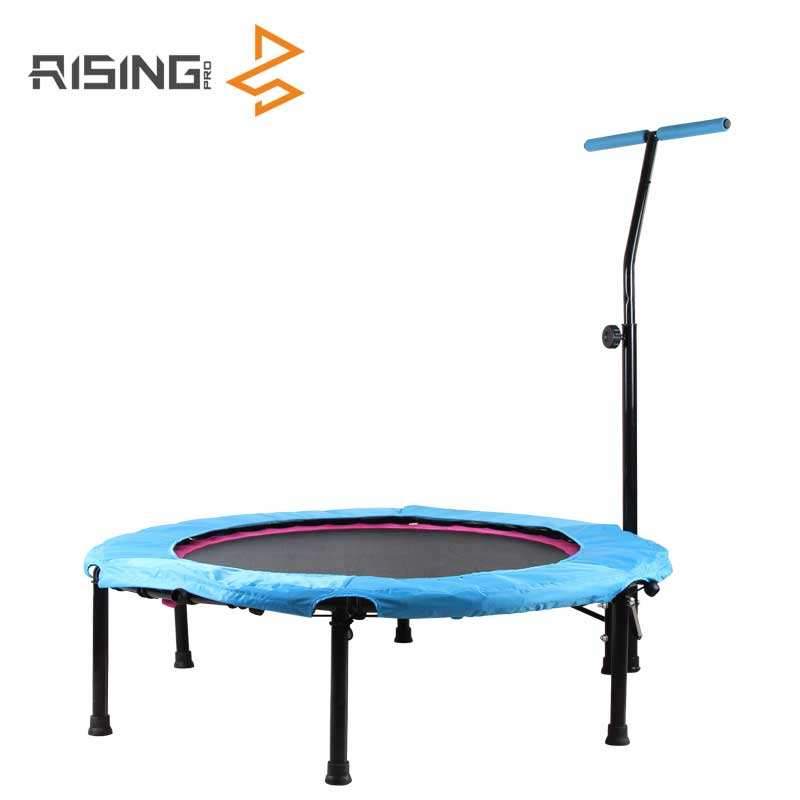 Gym Fitness Jumping Exercise Mini Hexagon Trampoline With T-Bar Handle