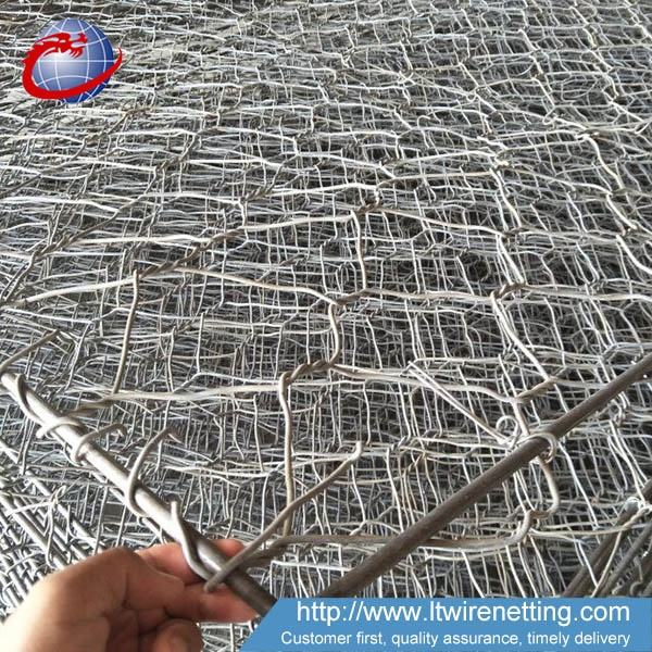 Rock filled gabion stone basket for sale
