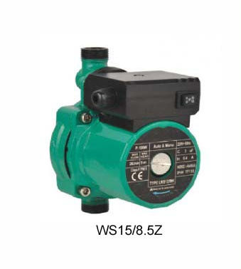 WS15/8.5Z shield type home Circulation pump,wilo circulation pump