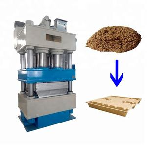 Europe standard Hydraulic press Wood pallet mould machine / 1200*1000mm wood sawdust pallet production line