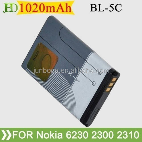 bl-5c batteryn for nokia battery list