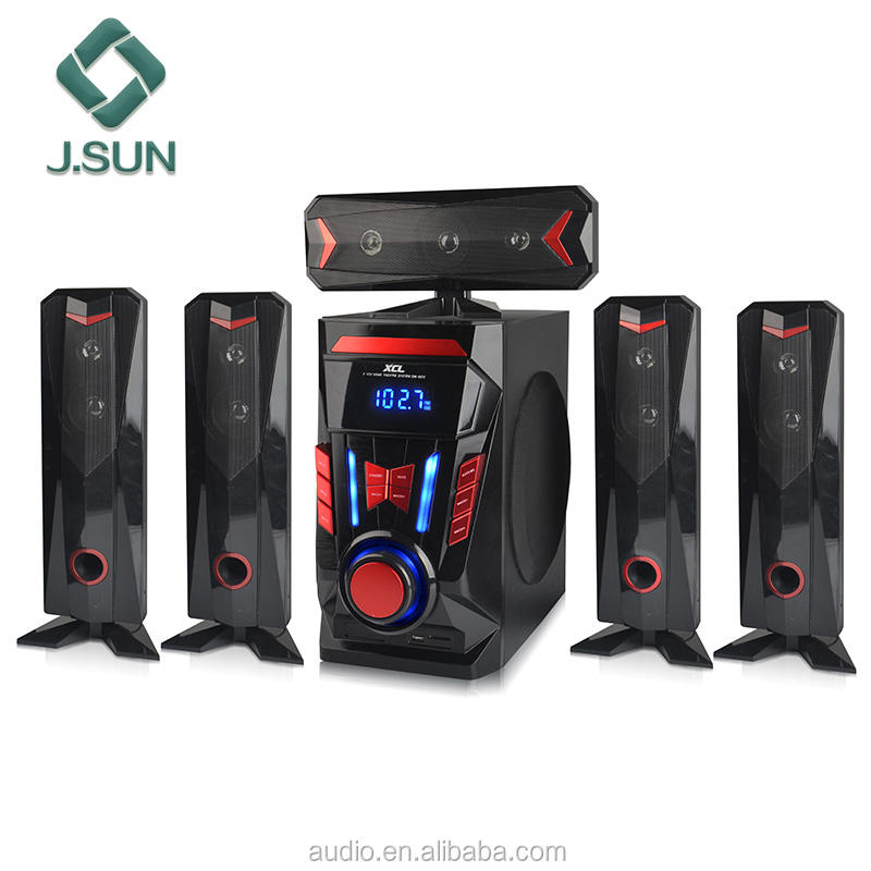 new products mini home theater 5.1 ch multimedia speaker system in J.SUN