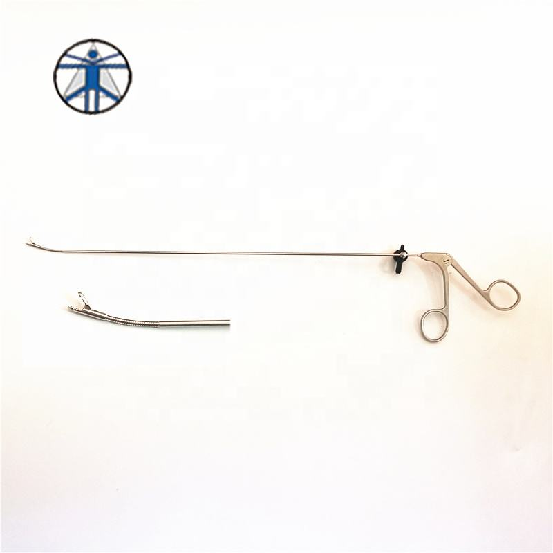 Spine instrument set flexible biopsy forceps