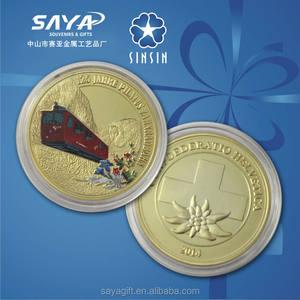 Berlin souvenir moneda de oro