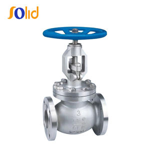 DN100 PN 16 Flanged Water Globe Valve Cast Steel For Water